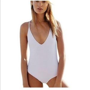 Free People x Beach Riot one piece swimsuit